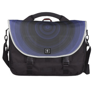 Blue Mystic Circle Laptop Bags