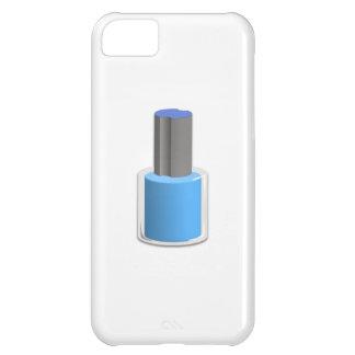 Blue Nail Polish iPhone 5C Covers