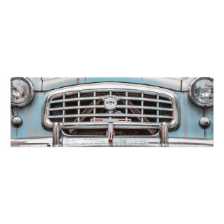 Blue Nash Rambler Photo Art