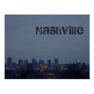 Blue Nashville Postcard