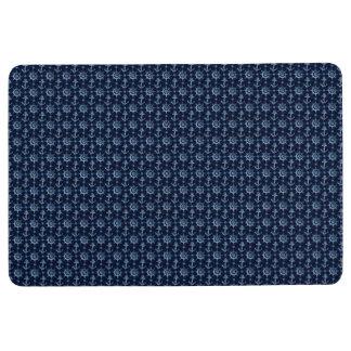 Blue Nautical Pattern Floor Mat