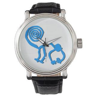 Blue Nazca Monkey Watch