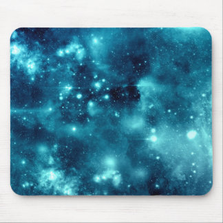 Blue Nebula Astronomy Space Galaxy Mouse Mat
