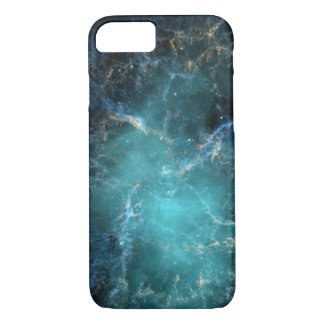 Blue Nebula Phone Case