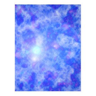 Blue Nebula Postcard