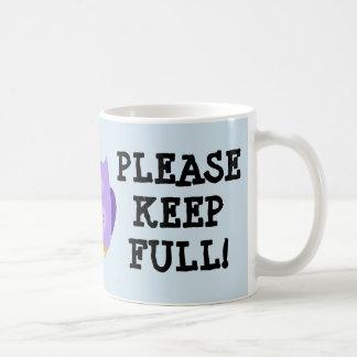 Blue New Mum Mug