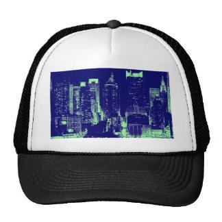 Blue New York City Trucker Hat