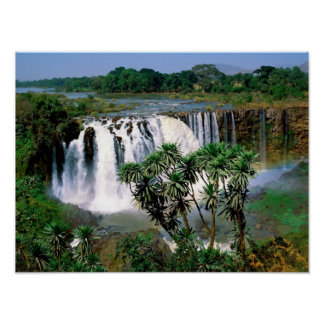 Blue Nile Falls Print