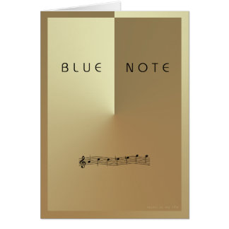BLUE NOTE cards