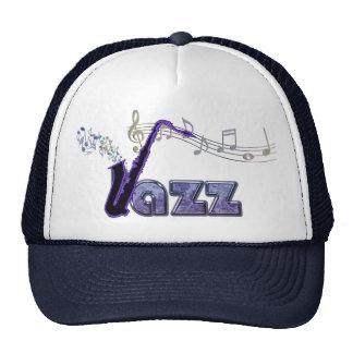 Blue Note Jazz Sax Music Hat
