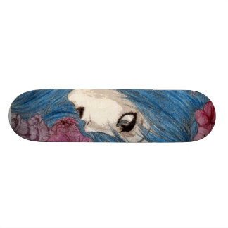 Blue Nymph Skateboard