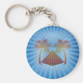 Blue Oasis Key Ring