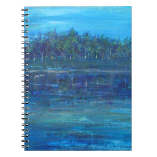 Blue Oasis photo notebook