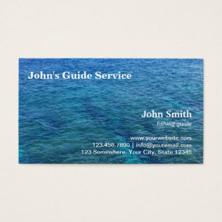 Blue Ocean Fishing Guide Tour Service