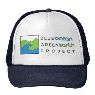 Blue Ocean Green Earth Project Hat- Navy Cap