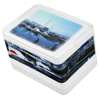 Blue ocean photo cooler box Part 1 Igloo Cool Box
