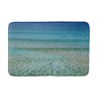 Blue Ocean Water Bath Mat Rug