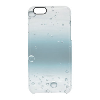 Blue Ocean Water Oxygen Balls iPhone Clearly™ Clear iPhone 6/6S Case
