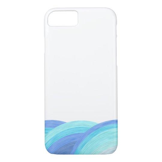 Blue ocean waves Case-Mate iPhone case