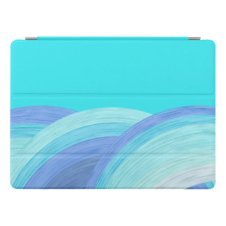 Blue ocean waves iPad pro cover