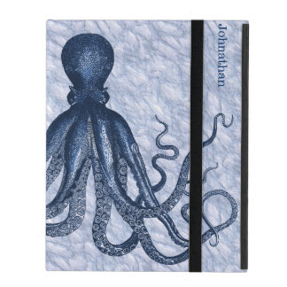 Blue Octopus Custom iPad 2/3/4 Case iPad Covers