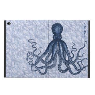 Blue Octopus Custom iPad Air 2 Case