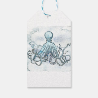 Blue Octopus Gift Tags