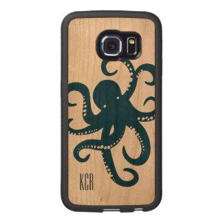 Blue Octopus Simple Illustration iPhone 6 Plus Case