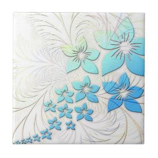 Blue Ombre Ceramic Tiles
