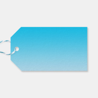 Blue Ombre Gift Tags