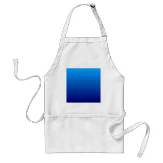 BLUE OMBRE STANDARD APRON