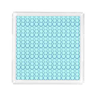 BLUE ON BLUE BUBBLE SMALL PERFUME TRAY