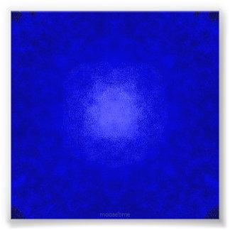 Blue on blue dots photo