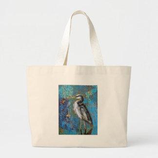 Blue On Blue Jumbo Tote Bag