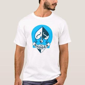 Blue on White Discount Val-U T-Shirt