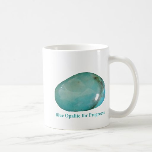 Blue Opalite for Progress Mug by IreneDesign2011