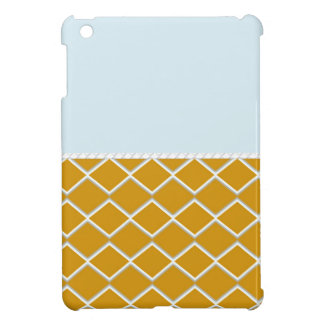 Blue Orange Zigzag iPad Mini Covers