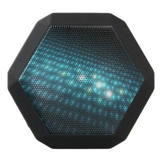 Blue Orbs 3D Black Bluetooth Speaker