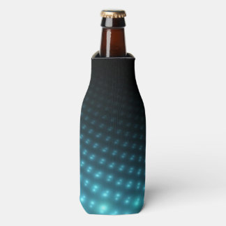Blue Orbs 3D Bottle Cooler