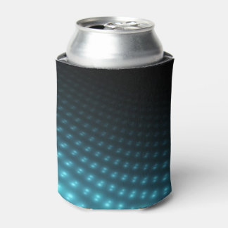 Blue Orbs 3D Can Cooler