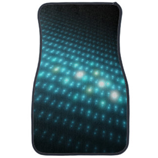 Blue Orbs 3D Car Mat