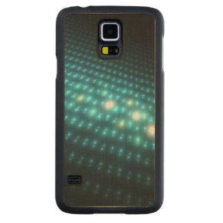 Blue Orbs 3D Maple Galaxy S5 Slim Case