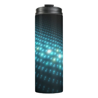 Blue Orbs 3D Thermal Tumbler