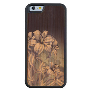 Blue Orchid Carved® Cherry iPhone 6 Bumper Case