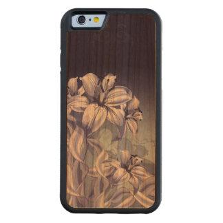 Blue Orchid Cherry iPhone 6 Bumper Case