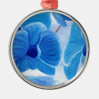 Blue Orchid elegant classy sophisticated joy Christmas Ornament