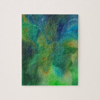 Blue Orchids Jigsaw Puzzle