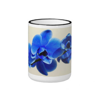 Blue orchids mugs