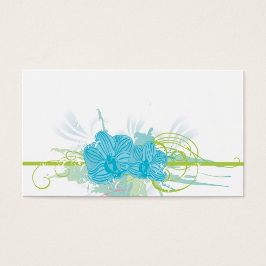 Blue orchids Profile Card