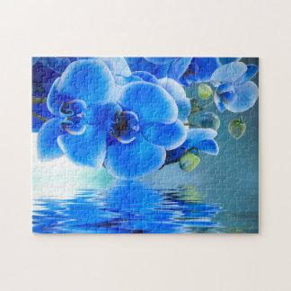 Blue Orchids Puzzle